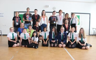 Under25Routes Artists Visit Waterhead Academy